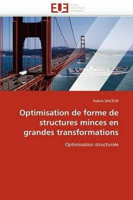Optimisation de Forme de Structures Minces En Grandes Transformations