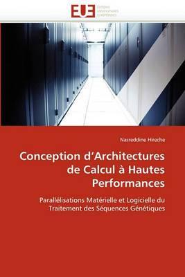 Conception D Architectures de Calcul a Hautes Performances
