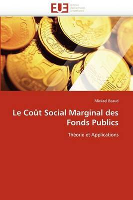 Le Cout Social Marginal Des Fonds Publics