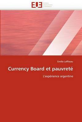 Currency Board Et Pauvrete