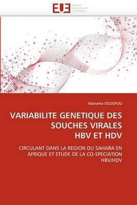 Variabilite Genetique Des Souches Virales Hbv Et Hdv