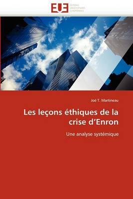 Les Lecons Ethiques de La Crise D Enron