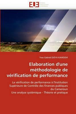 Elaboration D'Une Methodologie de Verification de Performance