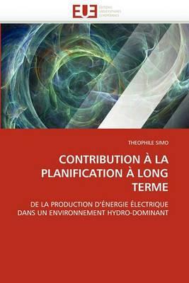 Contribution a la Planification a Long Terme