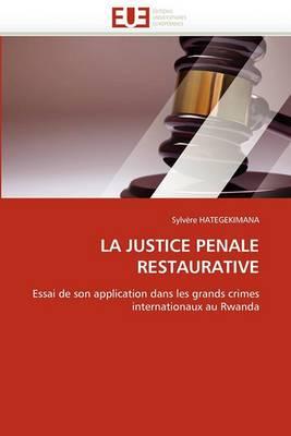 La Justice Penale Restaurative