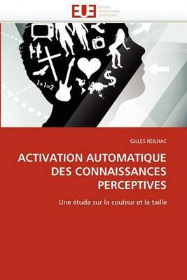 Activation Automatique Des Connaissances Perceptives