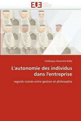 L''Autonomie Des Individus Dans L''Entreprise