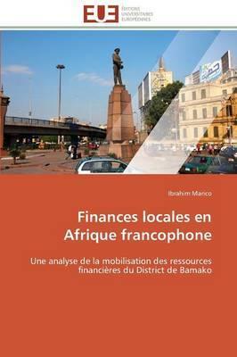 Finances Locales En Afrique Francophone