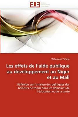 Les Effets de L''Aide Publique Au Developpement Au Niger Et Au Mali