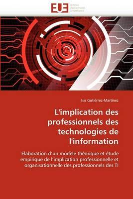 L''Implication Des Professionnels Des Technologies de L''Information