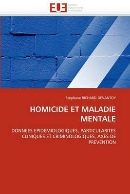 Homicide Et Maladie Mentale