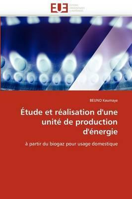 Etude Et Realisation D''Une Unite de Production D''Energie