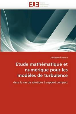 Etude Mathematique Et Numerique Pour Les Modeles de Turbulence