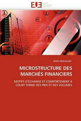 Microstructure Des Marches Financiers