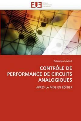 Controle de Performance de Circuits Analogiques