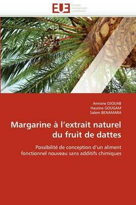 Margarine A L''Extrait Naturel Du Fruit de Dattes