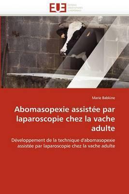 Abomasopexie Assistee Par Laparoscopie Chez La Vache Adulte