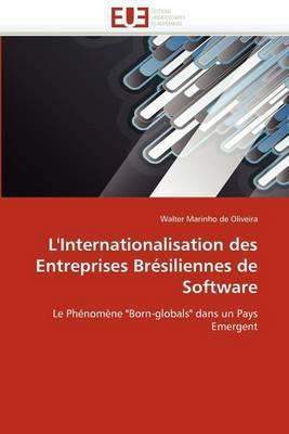 L'Internationalisation Des Entreprises Bresiliennes de Software