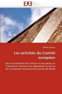 Les Activites Du Comite Europeen
