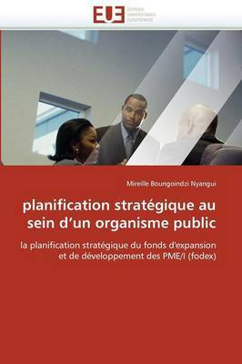 Planification Strategique Au Sein D Un Organisme Public