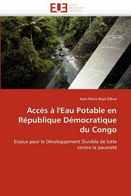 Acces A L'Eau Potable En Republique Democratique Du Congo