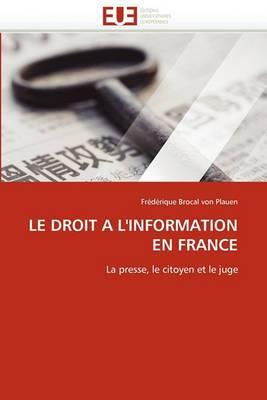 Le Droit A L''Information En France