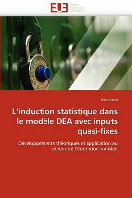 L Induction Statistique Dans Le Modele Dea Avec Inputs Quasi-Fixes