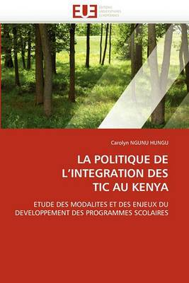 La Politique de L Integration Des Tic Au Kenya