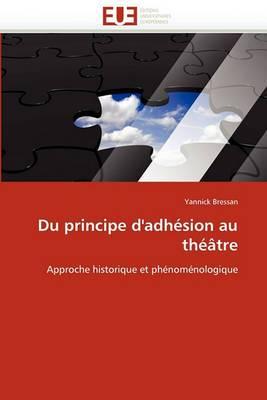 Du Principe D''Adhesion Au Theatre