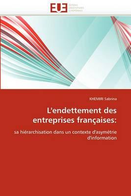 L''Endettement Des Entreprises Francaises:
