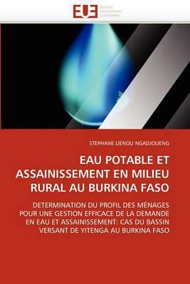 Eau Potable Et Assainissement En Milieu Rural Au Burkina Faso