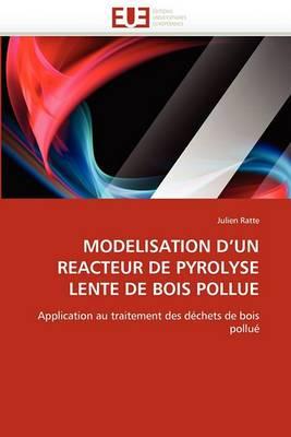 Modelisation D Un Reacteur de Pyrolyse Lente de Bois Pollue