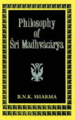 Philosophy of Sri Madhvacarya