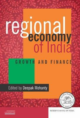 Regional Economy of India: Growth and Finance