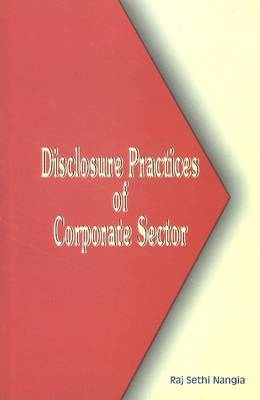 Disclosure Practices of Corporate Sector
