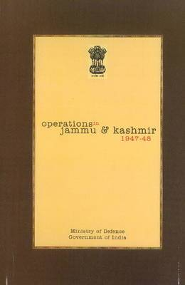 Official History of Operations in Jammu & Kashmir (1947-48)