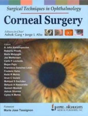 Surgical Techniques in Ophthalmology: Corneal Surgery