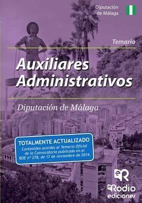 Auxiliares Administrativos de La Diputacion de Malaga. Temario