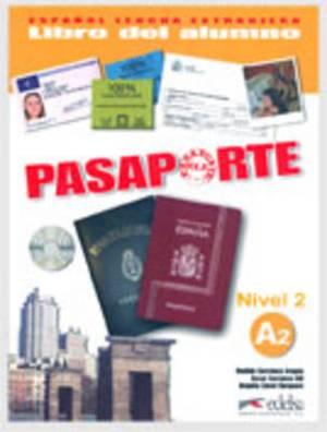 Pasaporte: Libro del alumno + CD audio A2