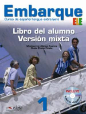 Embarque: Libro Del Alumno 1 + CD-Rom (Libro Digital)