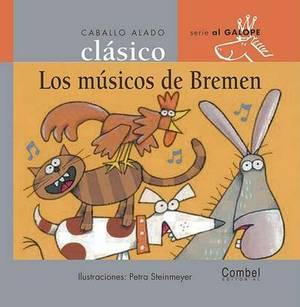 Ed. Combel - Coleccion Caballo Alado Clasico: Los Musicos De Bremen