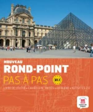 Rond-Point pas a pas: Livre de l'eleve + Cahier d'activites + CD (Level