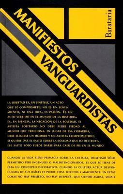 Manifiestos Vanguardistas