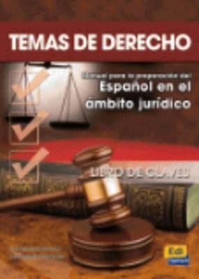 Temas De Derecho: Answers Book