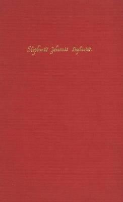 Danish Humanist Texts and Studies: Vol 2: Stephani Johannis Stephenii Notae Uberiores in Historiam Danicam Saxonis, Soro 1645