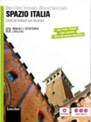 Spazio Italia: Manuale + Eserciziario 3 + DVD-ROM (B1)