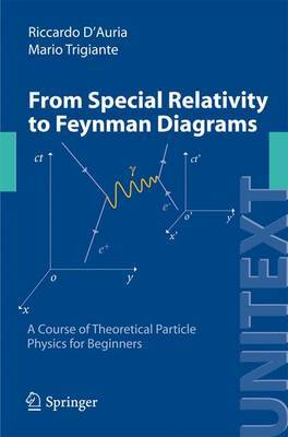 From Special Relativity to Feynman Diagrams: A Course of Theoretical Particle Physics for Beginners: 2012