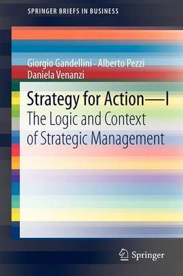 Strategy for Action: Pt. 1