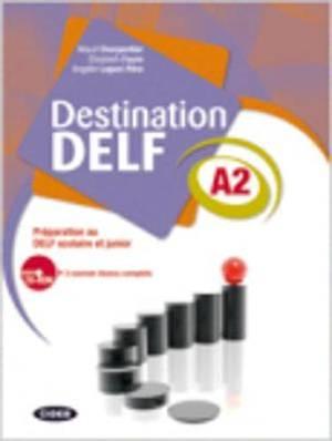 Destination Delf: Book + CD A2