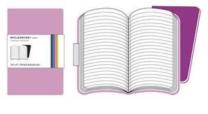 Moleskine Volant Extra Large Ruled Pink Magenta & Magenta